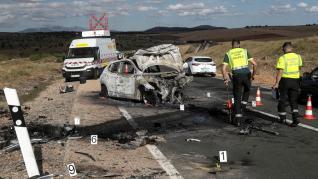 Fallece un joven de 20 años en un accidente en la N-122 en Soria