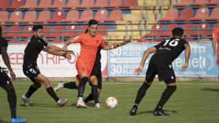 Partido amistoso entre el CD Castellón y la SD Huesca disputado en Teruel.