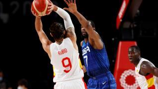 Juegos Olímpicos Tokio 2020: partido de cuartos de final de baloncesto España-Estados Unidos