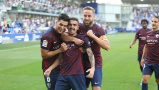 Foto del partido SD Huesca-Eibar, primera jornada de Segunda División 2021-22