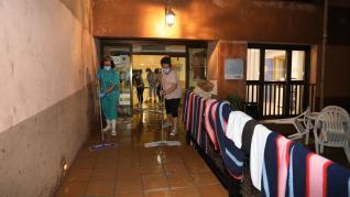 Albarracín, daños por el temporal.