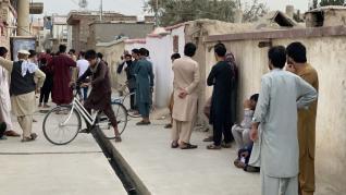 Explosión en Kabul.