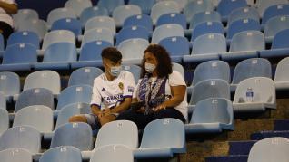 Búscate en La Romareda en el partido entre el Real Zaragoza y el CF. Cartagena.