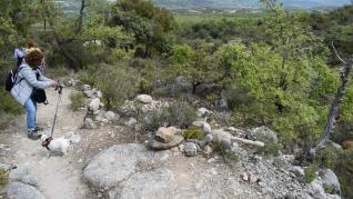 Sendero escultórico en Capella