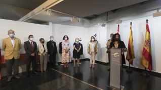 La inauguración de la exposición en honor al médico militar Fidel Pagés.