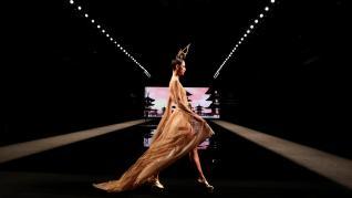 Desfile de este jueves en la Mercedes-Benz Fashion Week Madrid