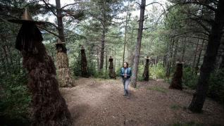 Fotos del parque temático de las brujas en Laspaúles
