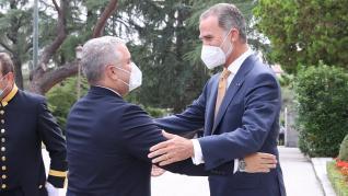 Visita del presidente de Colombia a España