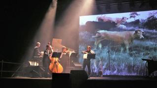 Actuación de la Fura dels Baus en el CDAN de Huesca