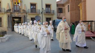 La ordenación del nuevo obispo se ha celebrado en la catedral de Teruel.