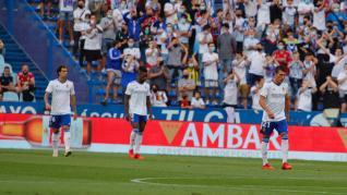 Partido Real Zaragoza-Real Sociedad B, en imágenes