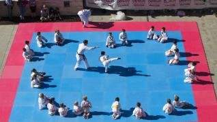 Día del Deporte en la Calle en la plaza del Pilar