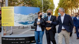 Inauguración de la exposición 'Con los ojos de la Ciencia'