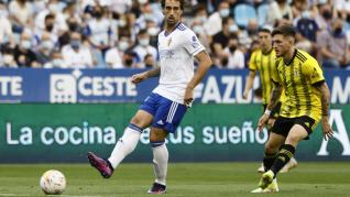 Partido Real Zaragoza-Oviedo, en imágenes