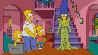 Margie, vestida de Balenciaga