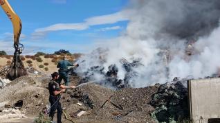 Arden 100 toneladas de residuos urbanos en Monzón.