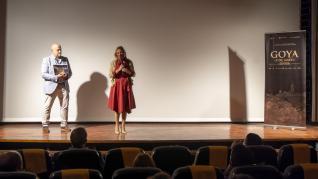 Presentación en el cine Marín de Teruel del cortometraje '3 de Mayo' de Carlos Saura.