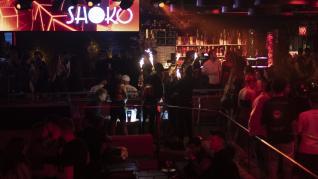 Primera noche de discotecas abiertas en Cataluña.