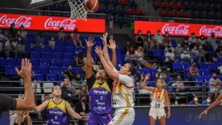 Partido Clarinos Tenerife-Casademont Zaragoza, de la Liga Femenina Endesa
