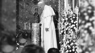Cuando el Papa Juan Pablo II visitó Zaragoza en plenas fiestas del Pilar