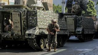 Disturbios y violencia en Líbano