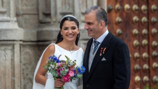 El secretario general de Vox, Javier Ortega Smith, se casa en Toledo