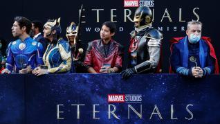 Estreno de 'Eternals' de Marvel.