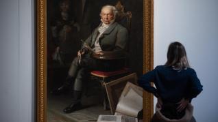 Presentación de la exposición sobre Goya en el Palacio de Sástago