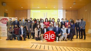 Entrega del XIII Premio Joven Empresario de Aragón.