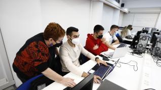 La Universidad de Zaragoza recupera la presencialidad tras año y medio de restricciones.