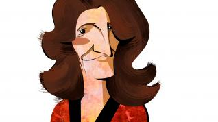 Ilustración de la ministra para la Transición Ecológica, Teresa Ribera