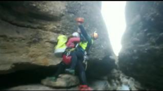 Rescate este domingo en el Barranco Estrechos del Balced
