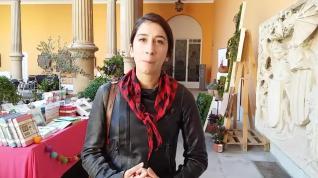 Bianca, erasmus italiana, visita el Mercado del 13