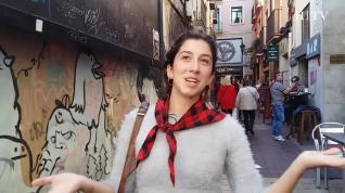 Bianca, erasmus italiana, de tapas en El Tubo