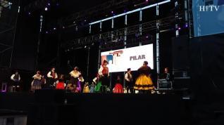 Jotas en la plaza del Pilar