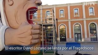 El Tragachicos se come al escritor David Lozano