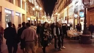 Despedida de las fiestas en la Plaza del Pilar