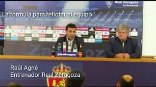"""Raúl Agné: """"Quiero que los jugadores recuperen la confianza"""""""