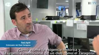 "Raúl Agné: ""Nos vamos a dejar el alma"""