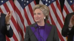"""Hillary Clinton: """"Todavía creo en América"""""""