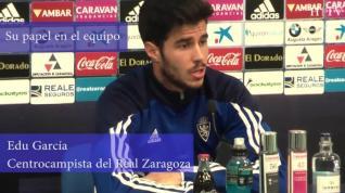 "Edu García: ""A pesar de haber pasado una mala racha seguimos estando ahí"""