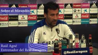 """Raúl Agné: """"A los entrenadores los hacen mejores los buenos jugadores"""""""