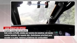 Estremecedor relato del accidente del Chapecoense