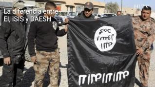 ¿Qué diferencia hay entre los nombres EI, ISIS y DAESH?