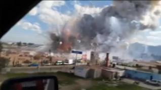 Al menos 30 muertos en la explosión de un mercado pirotécnico en México