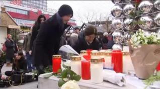 Conmoción entre los berlineses por el atentado contra el mercado navideño