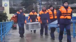 Hallan la caja negra del avión ruso estrellado en el Mar Negro