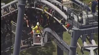 Rescatadas 20 personas tras un accidente en una montaña rusa de Australia