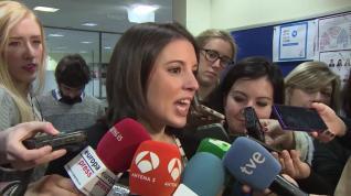 Montero valora las declaraciones de Bárcenas en el juicio