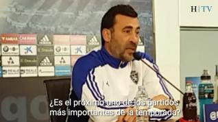 """Raúl Agné: """"No vale ponerse a llorar, hay que seguir luchando para que las cosas vayan bien"""""""
